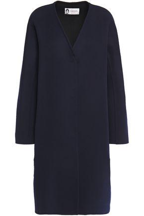 LANVIN Brushed wool and cashmere-blend felt coat