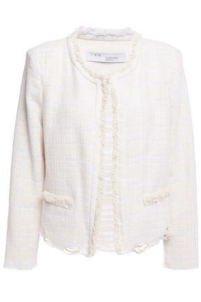 IRO Wondrous cotton-blend tweed jacket