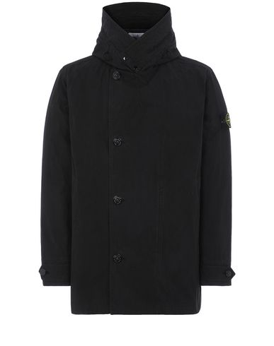 STONE ISLAND 42021 COTTON / CORDURA® Jacket Man Black EUR 387
