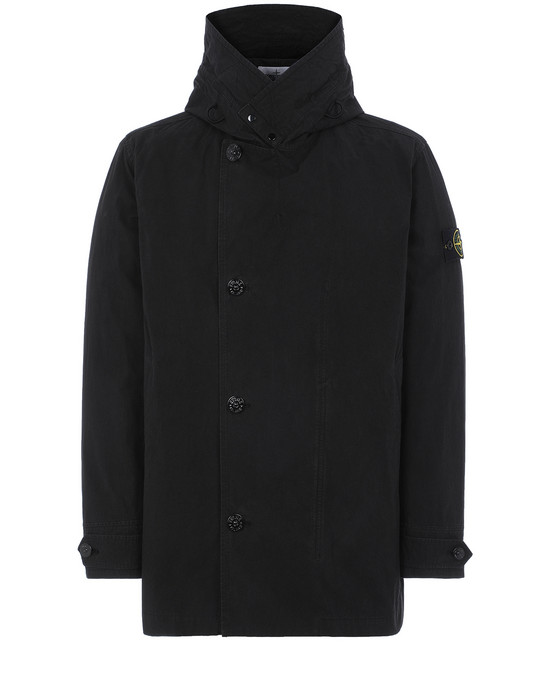 STONE ISLAND 42021 COTTON / CORDURA® Jacket Man Black