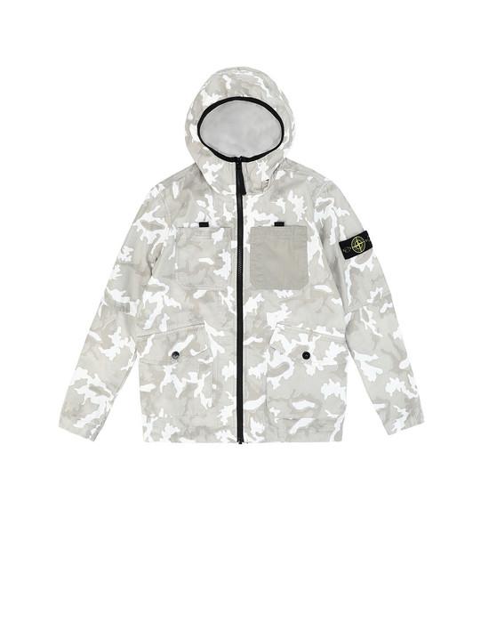 STONE ISLAND JUNIOR 41337 CAMOUFLAGE Jacket Man Beige