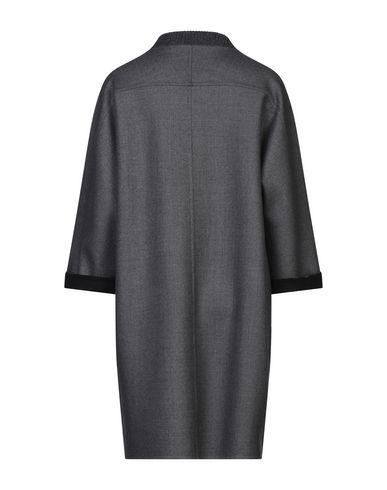 Фото 2 - Женское пальто или плащ GIORGIO GRATI свинцово-серого цвета