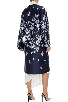 OSCAR DE LA RENTA Jacquard coat