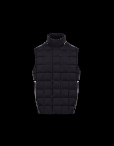 THAR Black Category Waistcoats Man