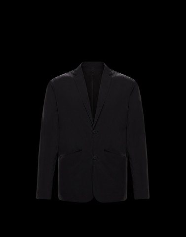 VERET Black Category Blazers Man