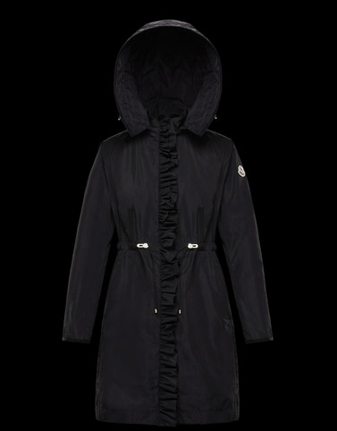 OUTREMER Black Category Parka Woman