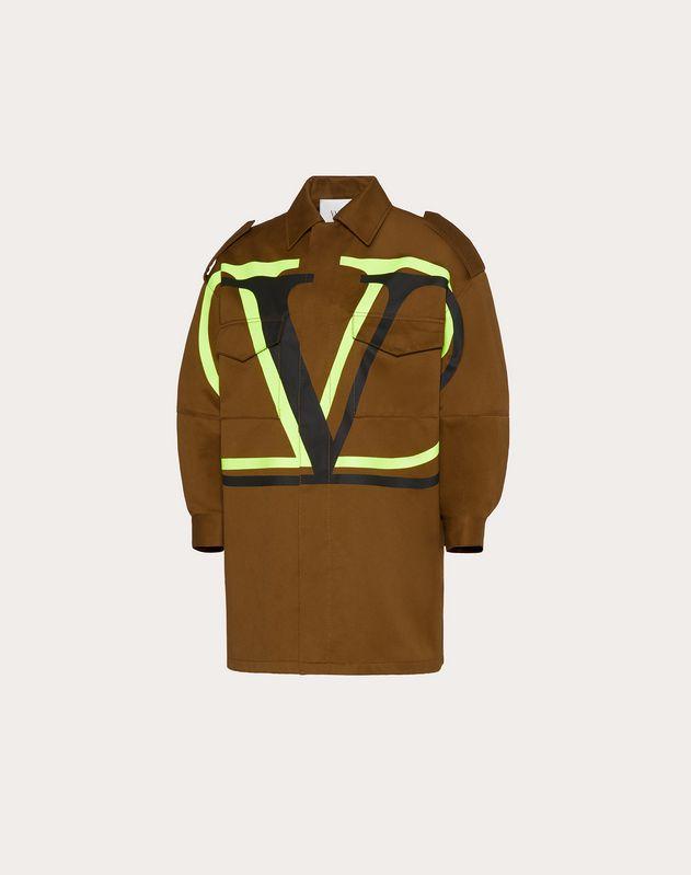 VLOGO Chino Gabardine Pea Coat