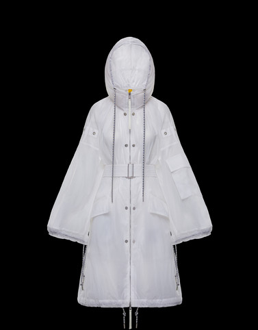 DELPHINIUM White Coats & Trench Coats Woman
