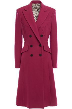 ALTUZARRA Double-breasted wool-blend felt coat
