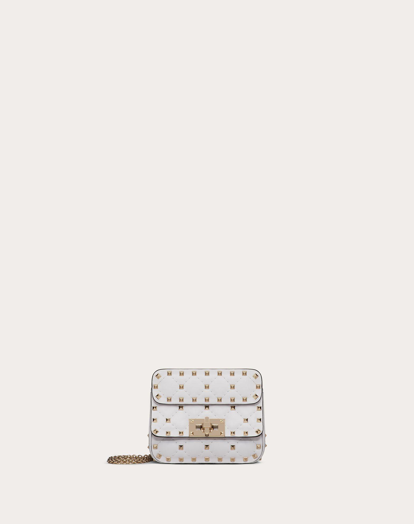 Micro Rockstud Spike Nappa Leather Bag