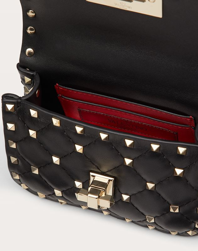 Micro Rockstud Spike Nappa Leather Bag