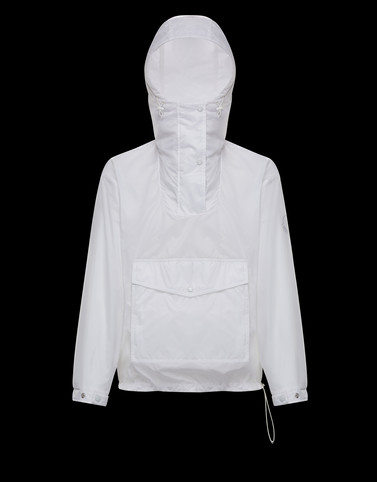 REYNARD White Windbreakers Man