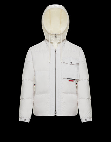 TRIENT White Down Jackets Man