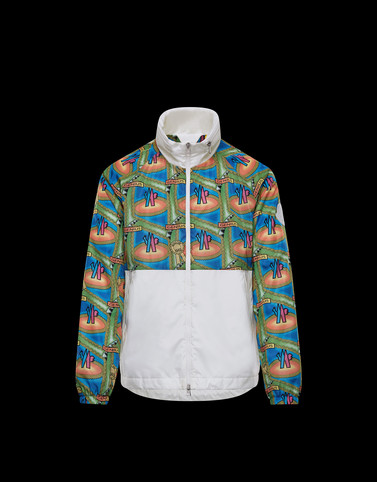 OCTA White Windbreakers Man