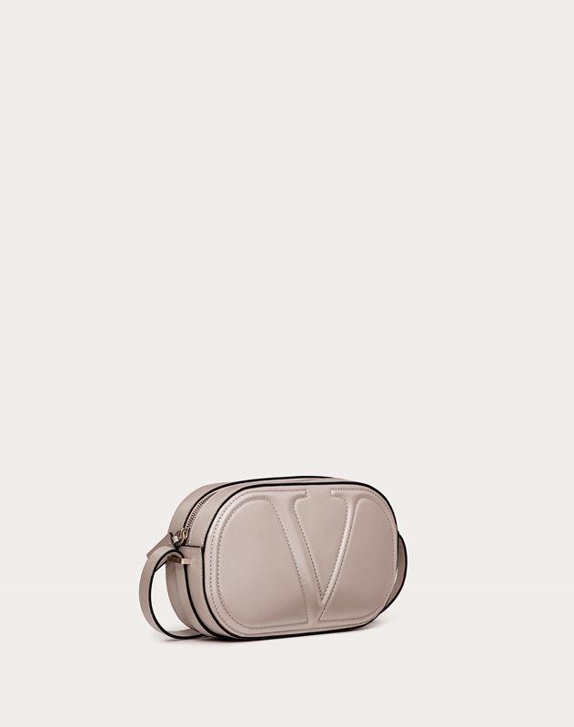 VLOGO Walk Calfskin Crossbody Bag
