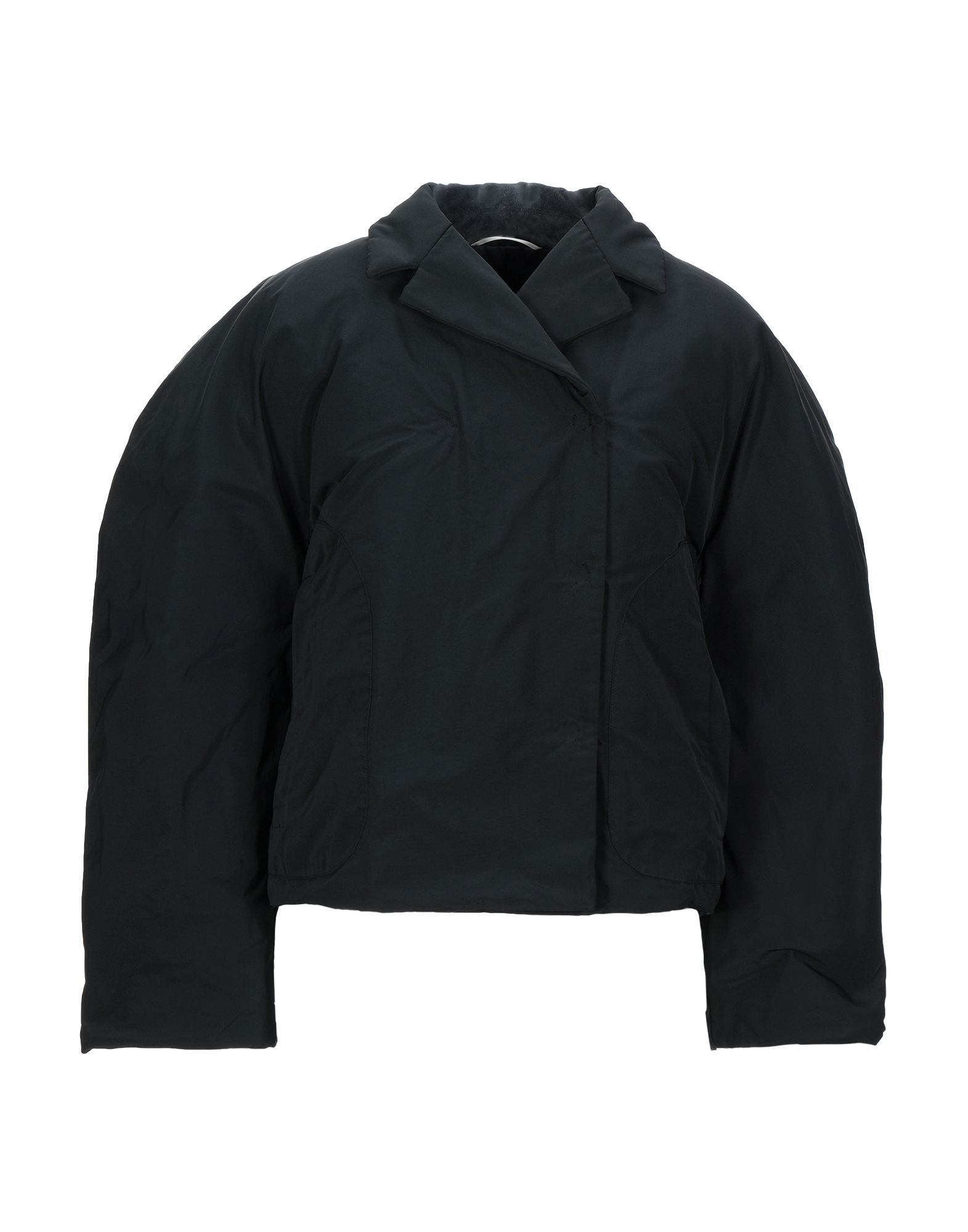 YOOX.COM(ユークス)《セール開催中》ROCHAS レディース 合成繊維中綿アウター ブラック 40 ポリエステル 100%