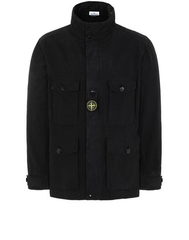 STONE ISLAND 41921 COTTON / CORDURA® Jacket Man Black EUR 387