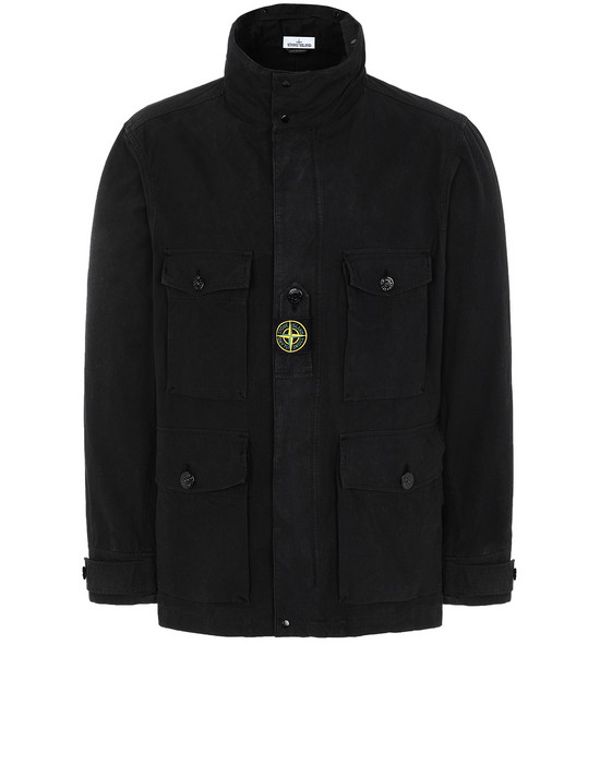 STONE ISLAND 41921 COTTON / CORDURA® Jacket Man Black