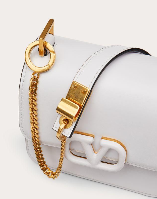 Micro VSLING Shiny Calfskin Shoulder Bag