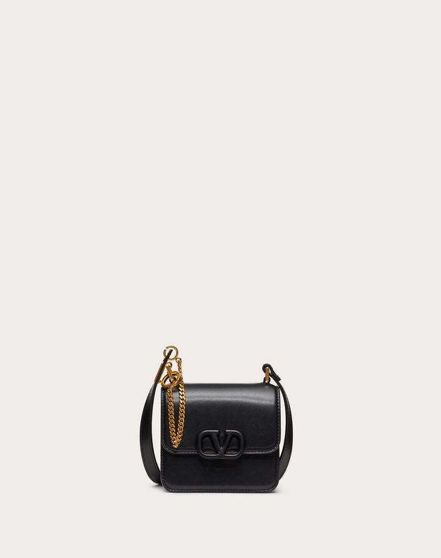 Micro VSLING Shiny Calfskin Shoulder Bag