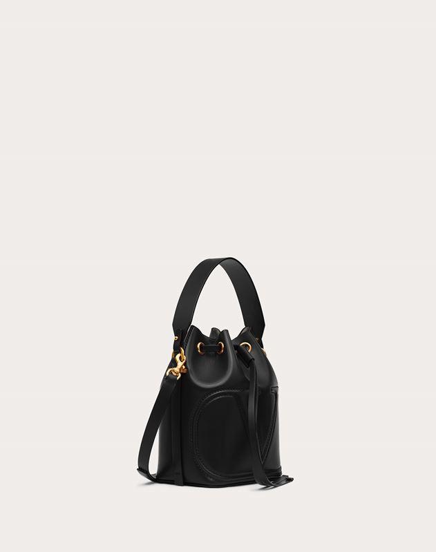 VLOGO Walk Calfskin Bucket Bag