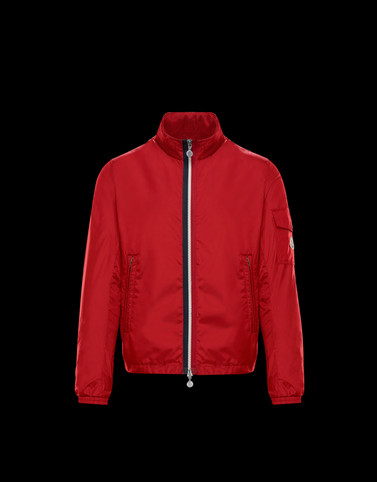KERALLE Red Windbreakers Man