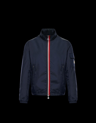 KERALLE Dark blue Category Windbreakers Man