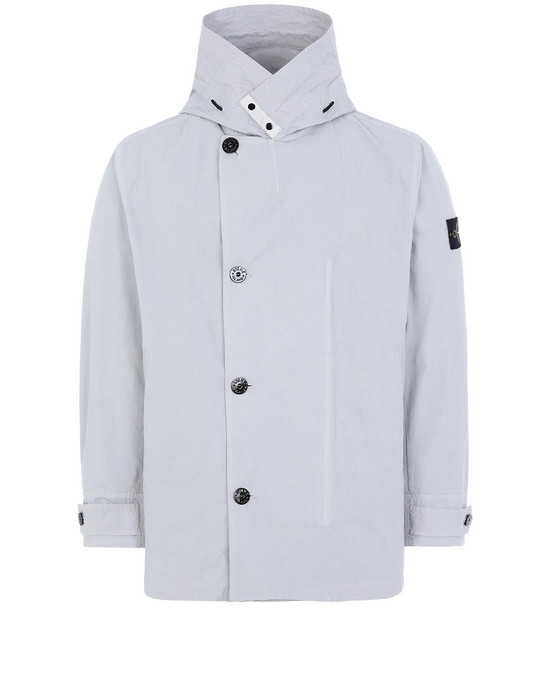 STONE ISLAND 42021 COTTON / CORDURA® Jacket Man Dust Gray