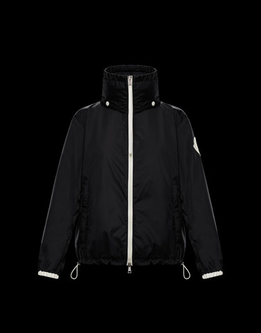 POMME Black Category Windbreakers Woman