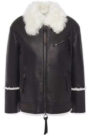 7 FOR ALL MANKIND Two-tone shearling jacket