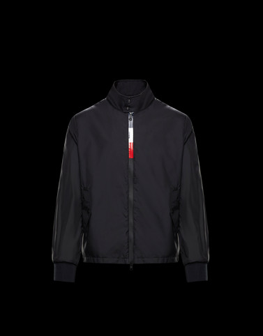 WIMEREUX Black Category Windbreakers Man