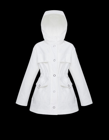 PALMIER White Category Parka Woman