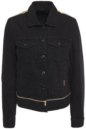 7 FOR ALL MANKIND Modern Trucker zip-detailed denim jacket
