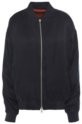 J BRAND Marlo reversible twill bomber jacket
