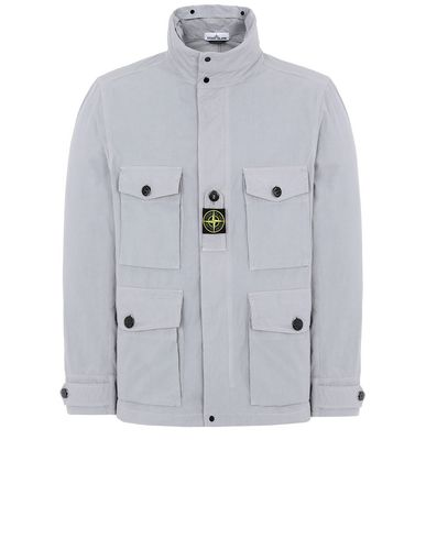 STONE ISLAND 41921 COTTON / CORDURA® Jacket Man Dust Gray USD 517