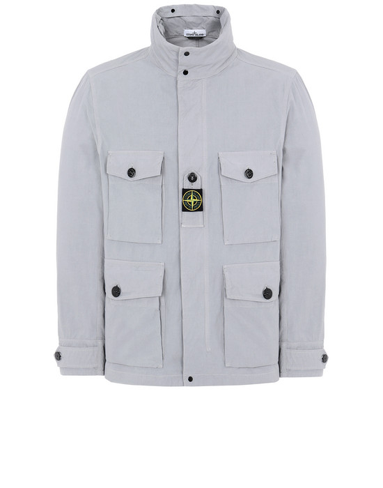 STONE ISLAND 41921 COTTON / CORDURA® Jacket Man Dust Gray