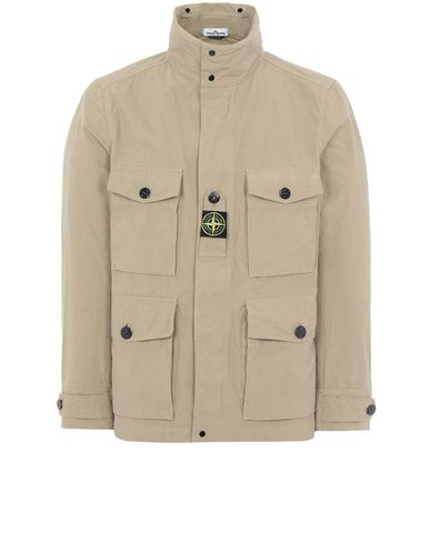 STONE ISLAND 41921 COTTON / CORDURA® Jacket Man Dark Beige EUR 553