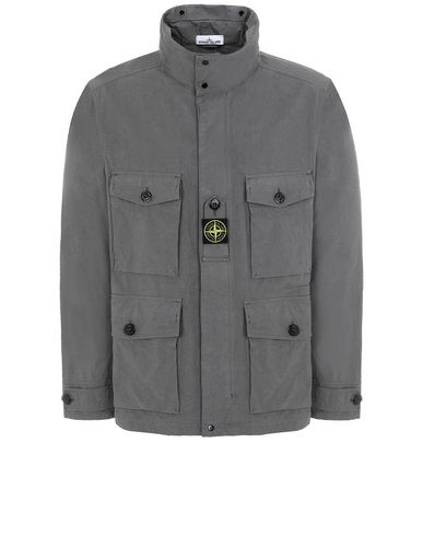 STONE ISLAND 41921 COTTON / CORDURA® Jacket Man Blue Grey EUR 387