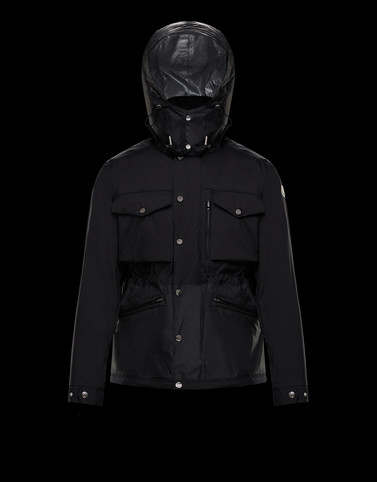 SIENNE Black Category Field Jackets Man