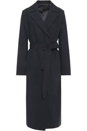 FILIPPA K Belted cotton and linen-blend twill coat