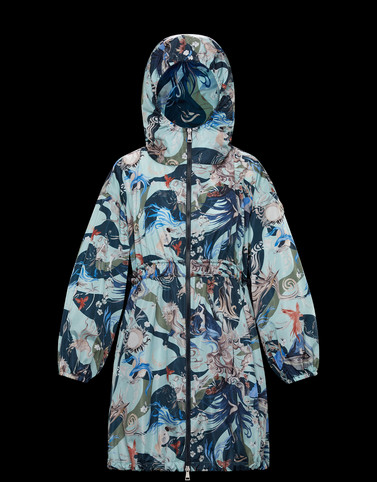 LICHEN Sky blue Category Parka Woman