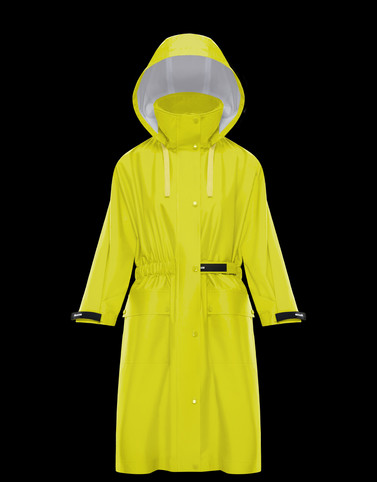 SAPIN Yellow Category Raincoats Woman