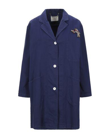 Фото - Легкое пальто от MOMONÍ темно-синего цвета