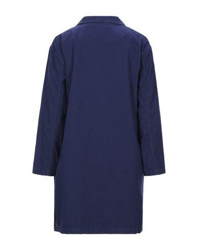Фото 2 - Легкое пальто от MOMONÍ темно-синего цвета