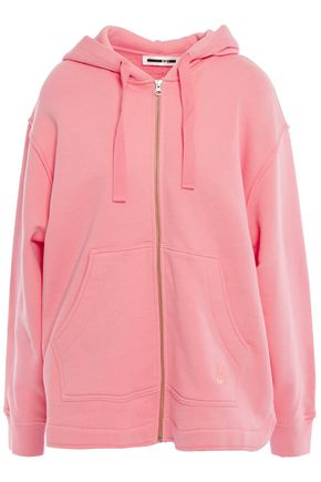 McQ Alexander McQueen French cotton-terry hoodie