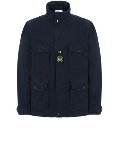 STONE ISLAND 41921 COTTON / CORDURA® Jacket Man Blue EUR 529