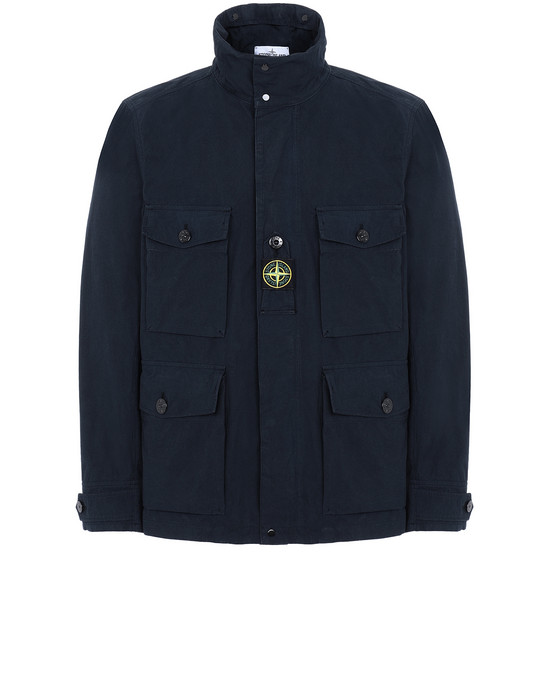 STONE ISLAND 41921 COTTON / CORDURA® Jacket Man Blue