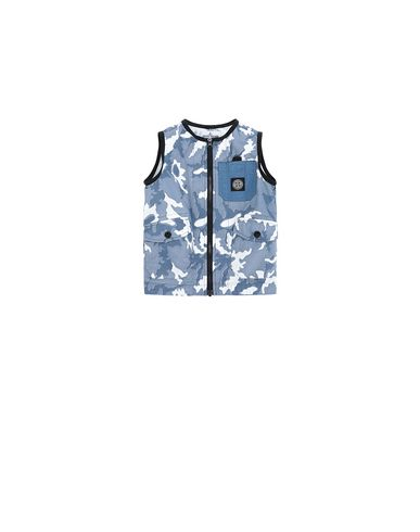 STONE ISLAND BABY G0237 CAMOUFLAGE  Gilet Homme Bleu EUR 237