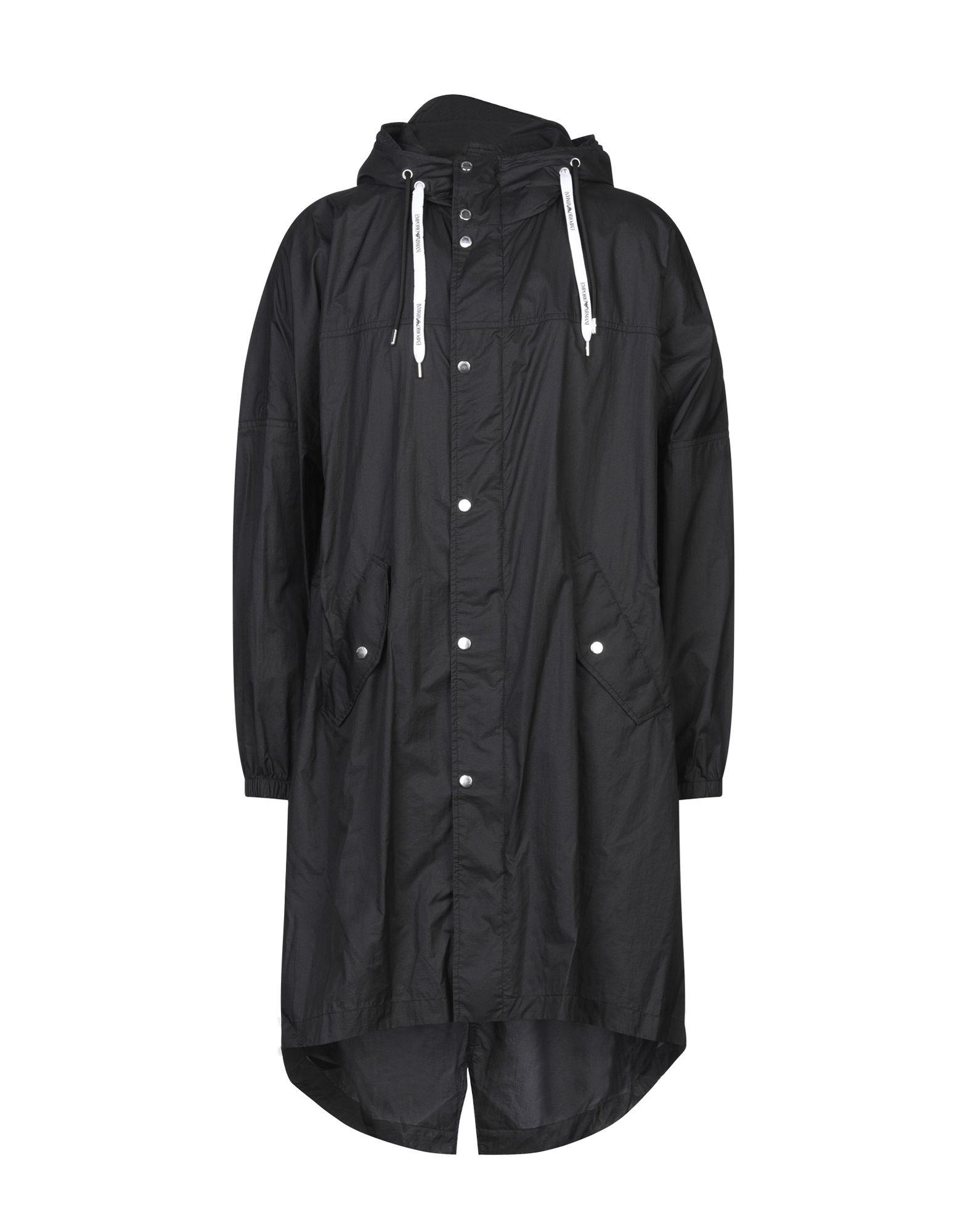 EMPORIO ARMANI Легкое пальто