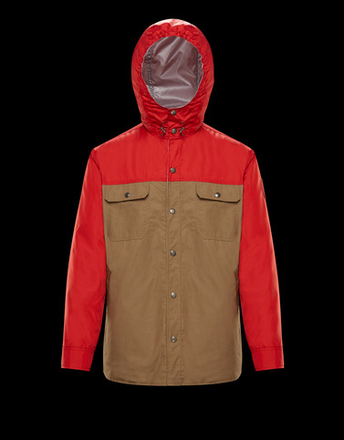 DONAN Red Category Field Jackets Man